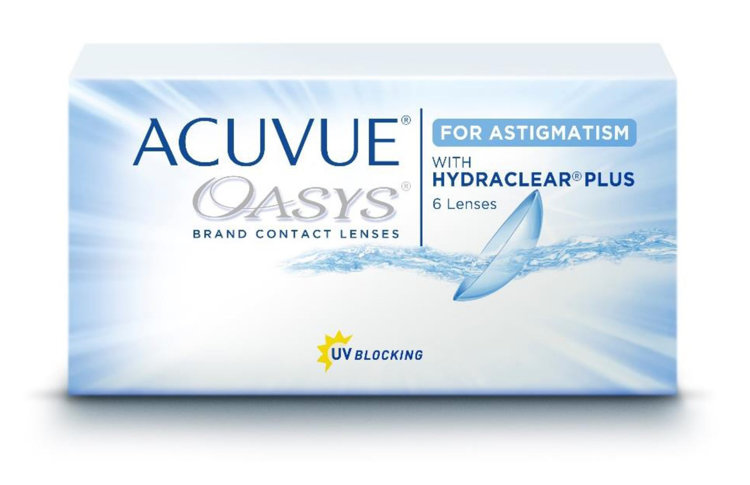 Picture of Acuvue Oasys for Astigmatism (Pack of 6 Lenses)