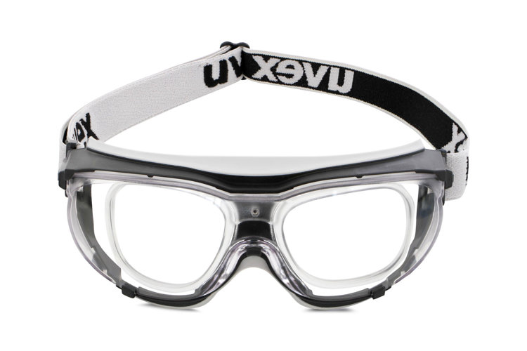 Picture of Uvex 5501 Safety Goggle Black Grey